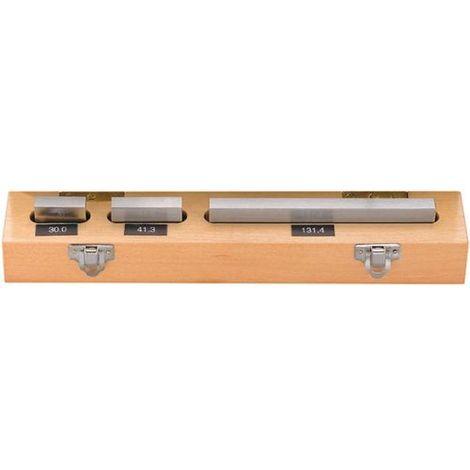 Genauigkeit 2 Stahl Endmaßsatz 87-teilig Parallelendmaße Endmaßkasten