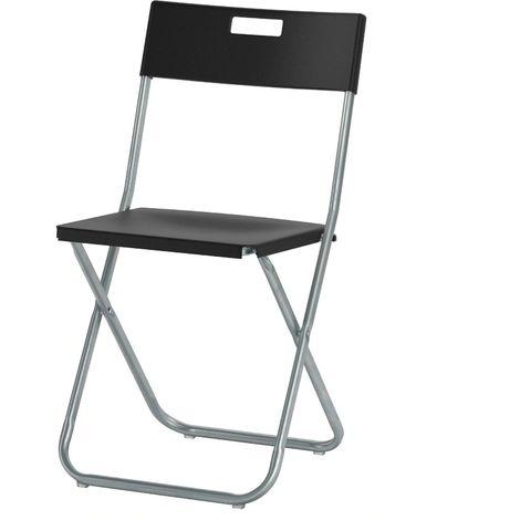 Sedie Da Regista In Legno Ikea.Ikea Gunde 4 Sedia Pieghevole Nero O Bianco Colore Principale
