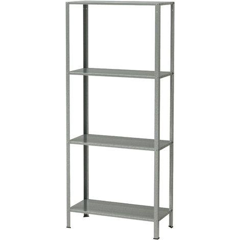Ikea Scaffali Di Metallo.Ikea Hyllis Scaffale Scaffali Da Interno E O Esterno Zincato 60x27x140 Cm