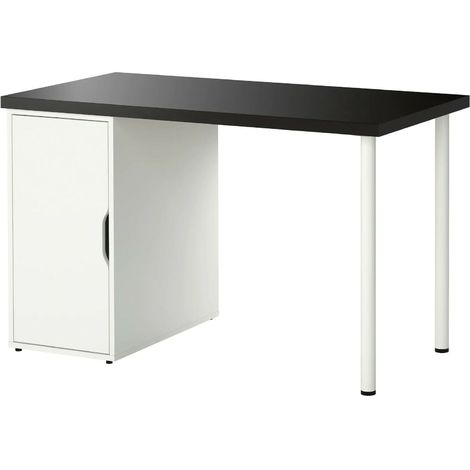 Ikea Scrivania Linnmon Alex Ufficio Porta Pc In Legno Con