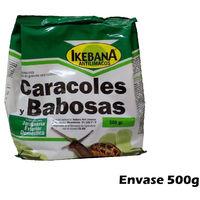 IKEBANA 500g molusquicida anti limacos cebo para controlar caracoles y babosas