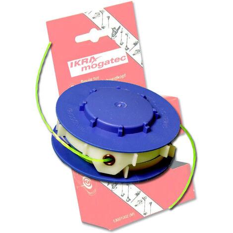 IKRA Bobine de rechange pour coupe-bordures et débroussailleuses - 2 x 5 mètres - diamètre 1,4 mm