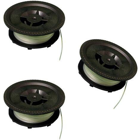 IKRA bobines VA/1, 13007006-3, set de 3 pièces, pour coupe-bordures