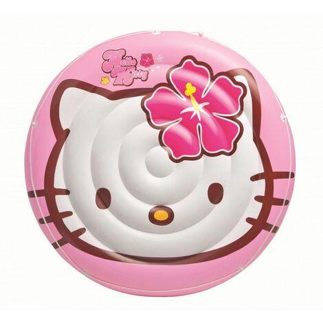 Ile gonflable Hello Kitty - Intex - Matelas flottant de piscine - Livraison gratuite
