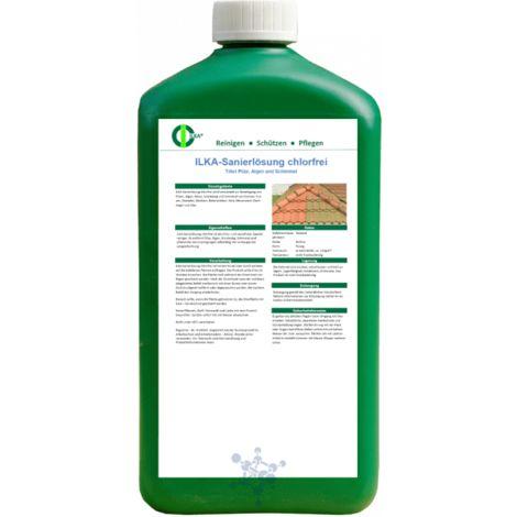 ILKA - Sanierloesung chlorfrei - Toetet Pilz, Algen und Schimmel