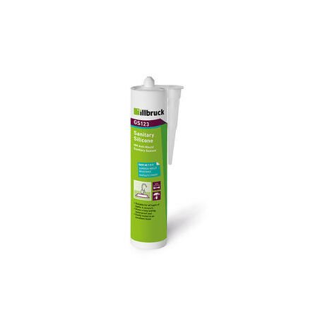 ILLBRUCK GS123 SANITARY SILICONE CLEAR 310ML