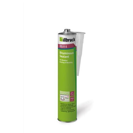 Illbruck OS111 Bituminous Sealant Black 310ml