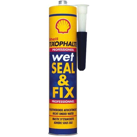 Illbruck Shell Tixophalte Wet Seal & Fix Bituminous Sealant 310ml