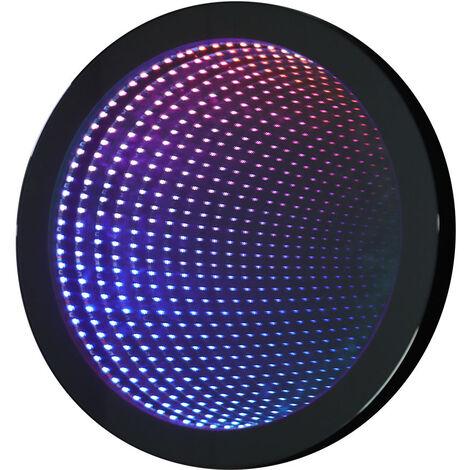 Illuminated LED Bathroom Tunnel Mirror Round 50CM