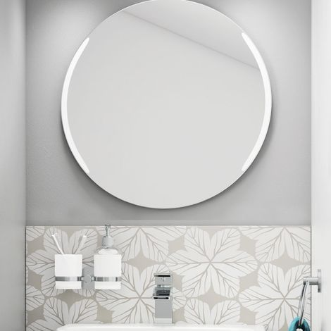 Illuminated Mirror with Demister - Crystal by Voda Design