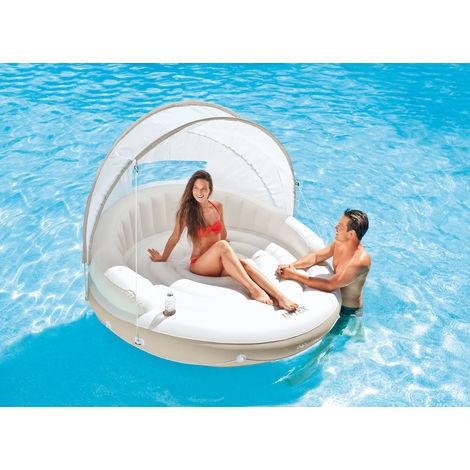 Ilot flottant Lounge Caraïbes - Intex