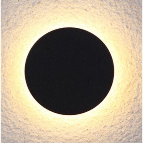 ILoveMilan Applique extérieure Applique d'intérieur Lampe de chevet Applique murale LED étanche couloir escalier couloir salon chambre lampe de chevet(8w lumière chaude,Soleil