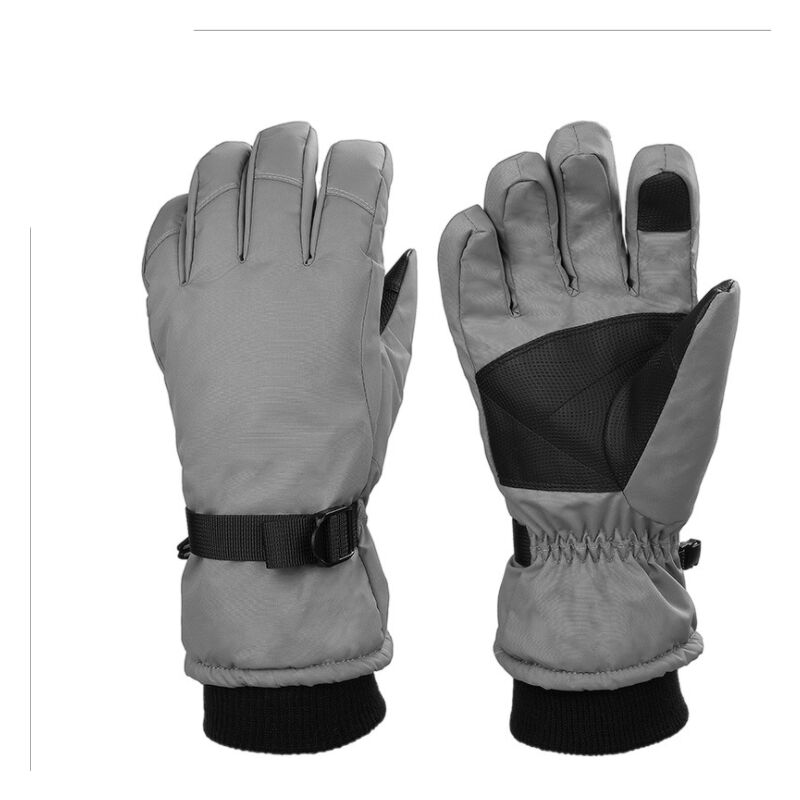 Ilovemono Gants de ski, gants d'hiver chauds, gants d'extérieur, gants coupe-vent antidérapants, gants de randonnée de course de montagne de course