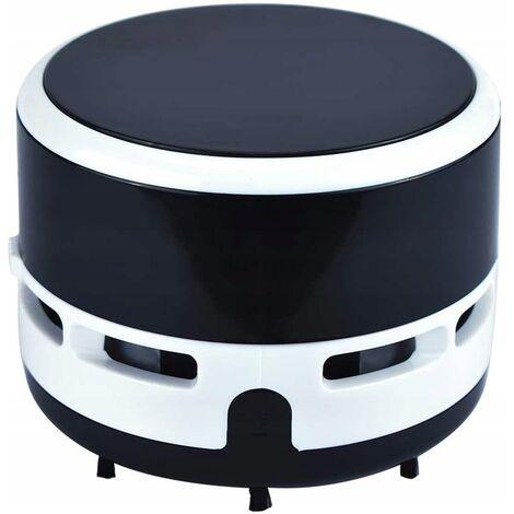 ILoveMilan Mini aspirateur de bureau Aspirateur domestique de nettoyage de poussière et de suie noir