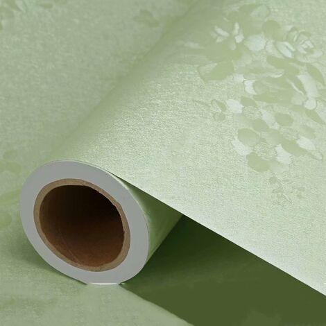 ILoveMilan Papier peint Épaisseur auto-adhésif Espace monochrome dans le style européen influencé de salon imperméable chambre dortoir mur papier peint autocollant stickers mur bleu rose de 3 mètres