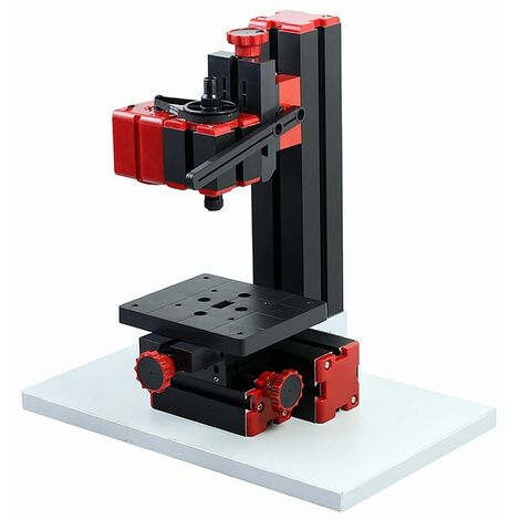 Ilovemono Bricolage 6 en 1 machine multifonction, scie, moulin, perceuse, meuleuse, meuleuse, tour à bois / métal