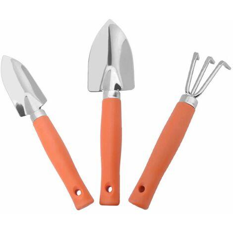 Ilovemono Outils de Jardin, 3 Pièces Kit Jardinage Ensemble Outils Jardinage