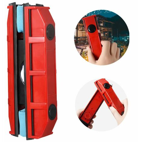 Ilovemono Raclette lave vitre magnétique pour vitrage de 2 à 8 mm