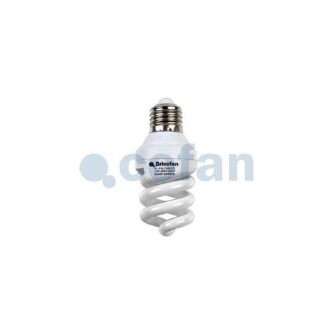 LAMPARA B. CONSUMO TRI ESPIRAL 2700K 11W/E27 - BRICOFAN