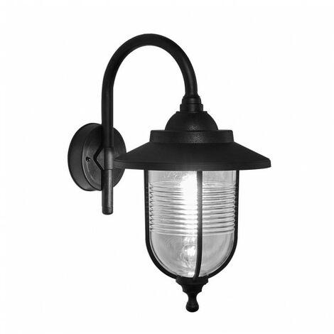 Iluminación de pared Exterior Canela Negro Fabrilamp