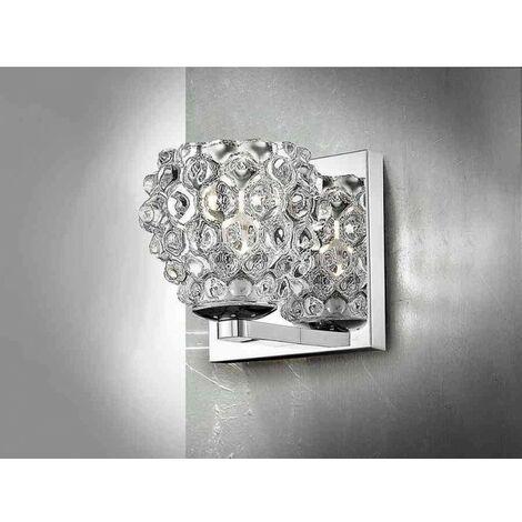 Iluminación de pared, HESTIA cristal transparente
