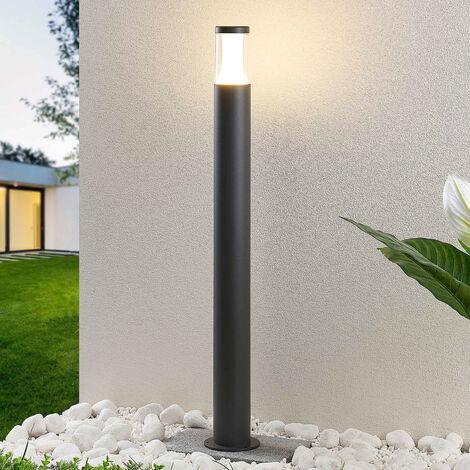 Iluminación LED de senderos Amily gris oscuro 90cm