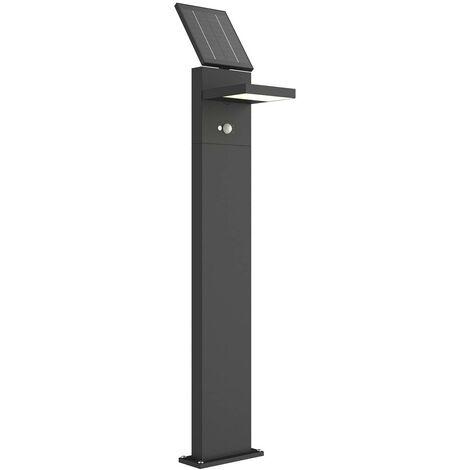 Iluminación LED solar senderos Silvan sensor 100cm