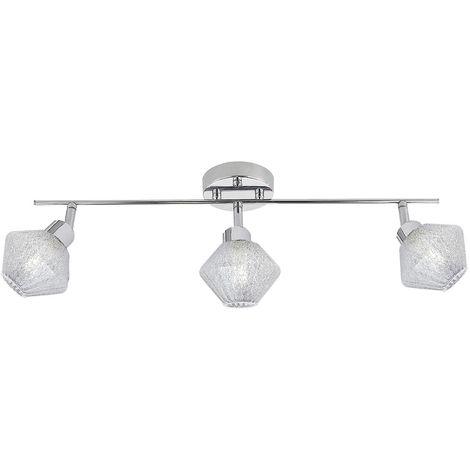 Iluminación para salon OZADI cromo de 3 luces de ALEMAR