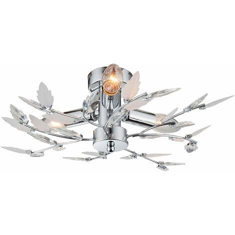 """main image of """"iluminación ramas lámpara dormitorio de la lámpara de techo de energía 9 Floral Watt LED"""""""