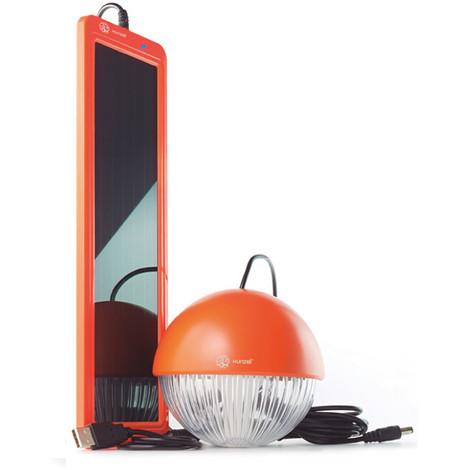 Iluminacion Solar Kit Blanco - XUNZEL - SOLARMOONBL