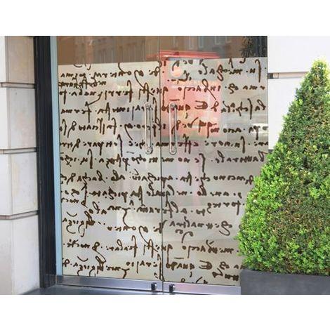Image de fenêtre Da Vinci Manuskript