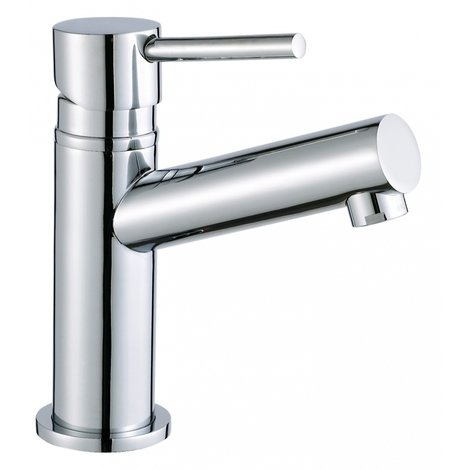 Hot and cold handbasin taps