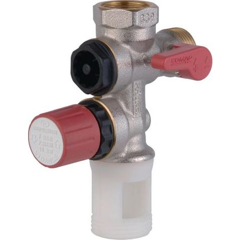 Pressure relief valve for water heater