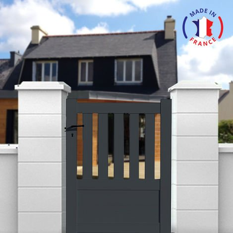 Aluminium, iron and steel garden gates