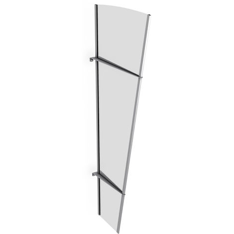 Panel for door canopy