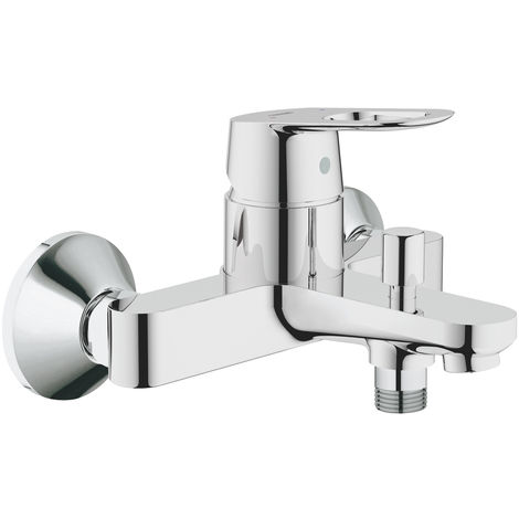 Monobloc bath taps