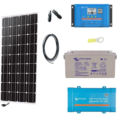 Autonomous solar kit for isolated positions (230 v)