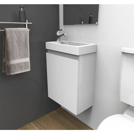 Vanity unit with hand basin