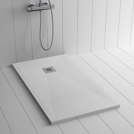 Integrated low profile shower tray