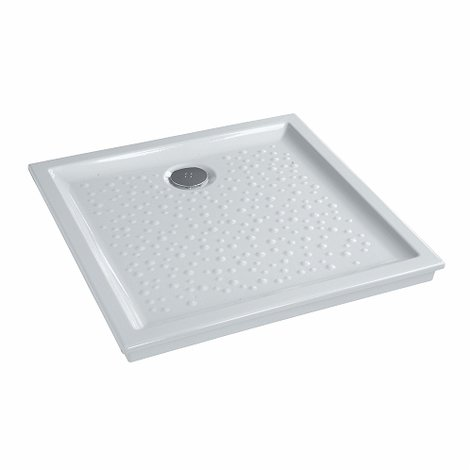 Integrated wetroom flush shower tray