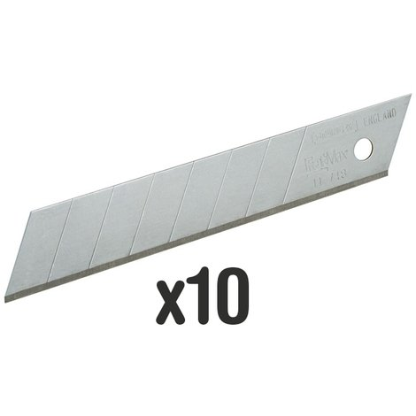 Blades for cutter, knife and scalpel