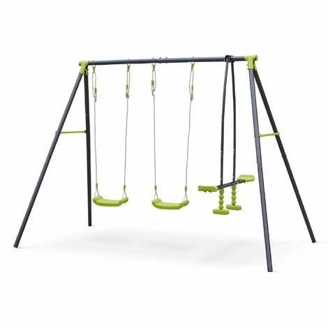 Swing and multi-play sets