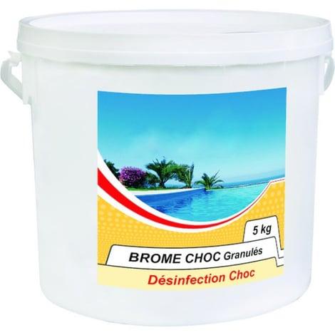 Bromine swimming pool treatment