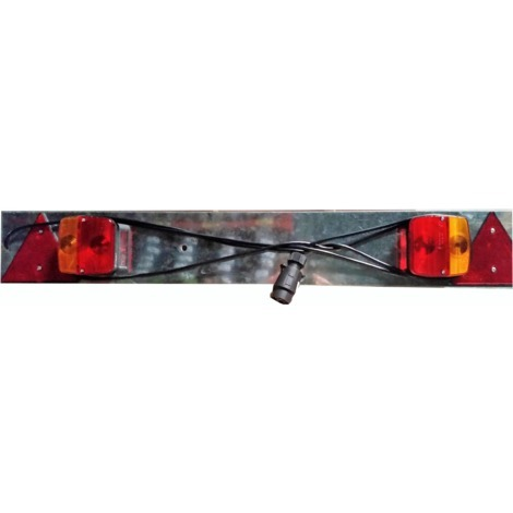 Car trailer tail lights and signs