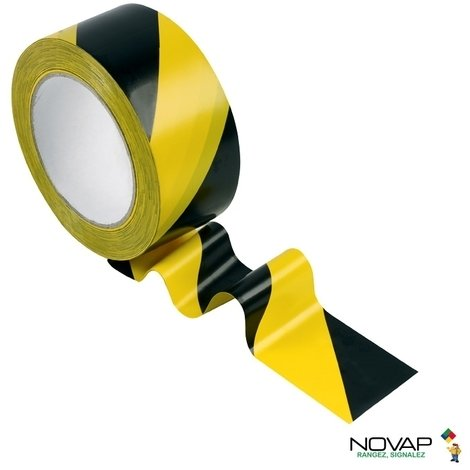 Hazard warning barrier tape