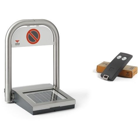 Hooped safety barrier