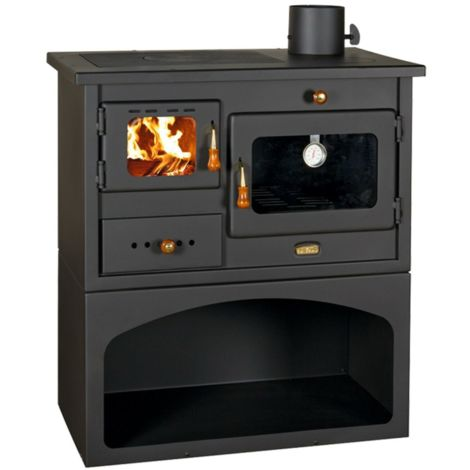 Wood burning cooker
