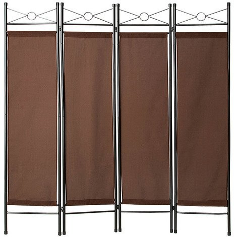 Folding room divider screen