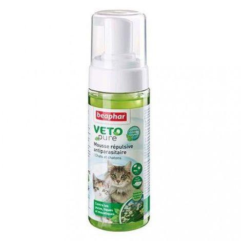 Anti-puces et antiparasitaire pour chaton