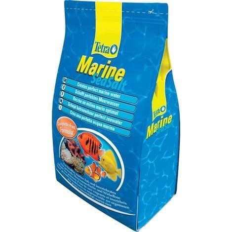 Sel de mer pour aquarium